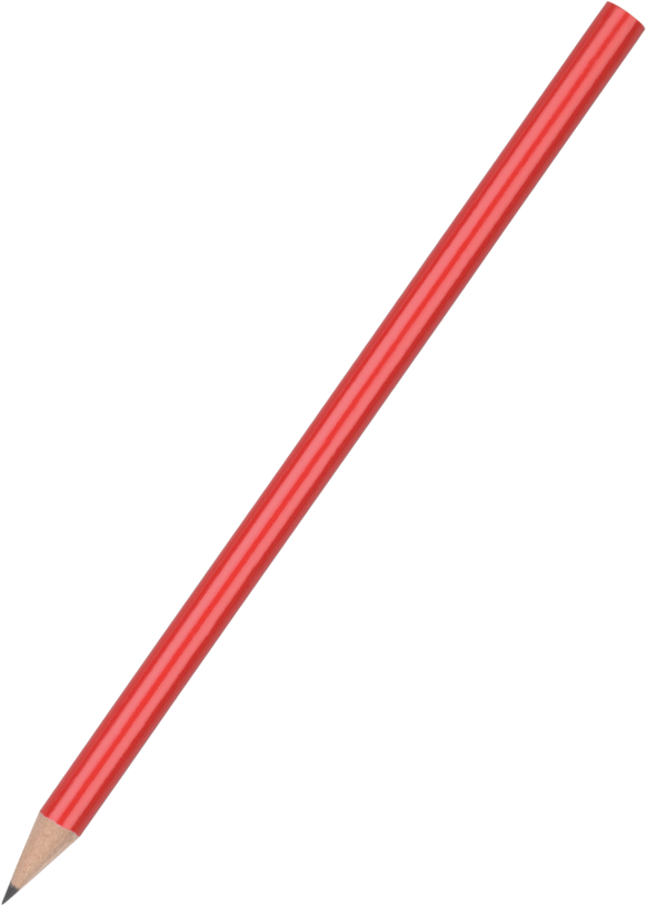 Standard Pencil - Red