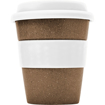 Bamboo Travel Coffee Cup - White