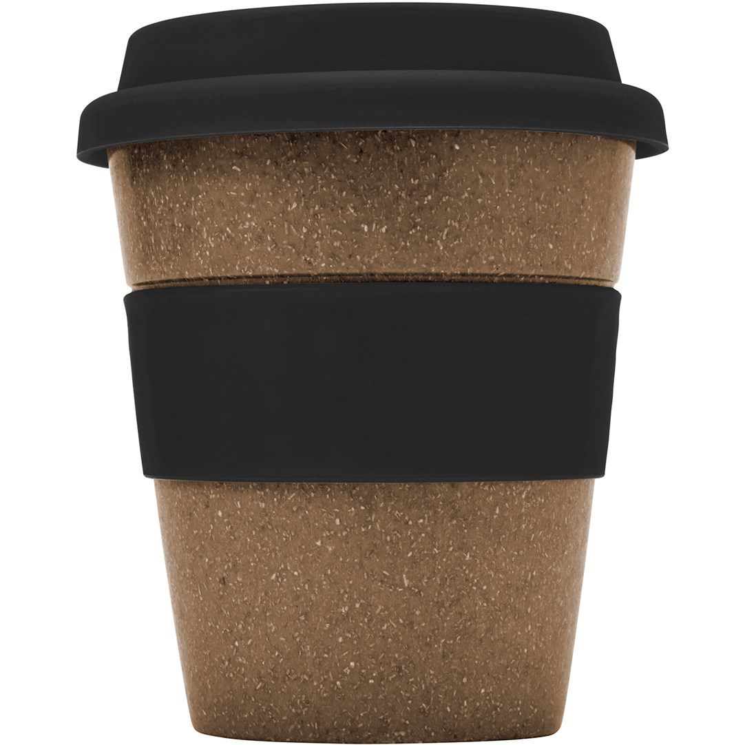 Bamboo Travel Coffee Cup - Black