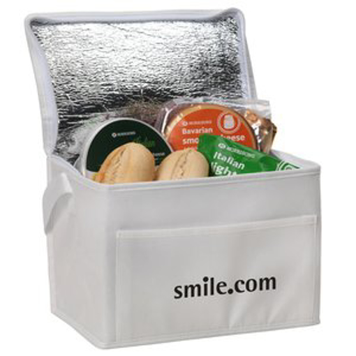 Small Fold Away Cooler Bag - Branded