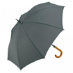 Fare Automatic Crook Handle Umbrella - Grey