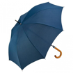 Fare Automatic Crook Handle Umbrella - Navy Blue