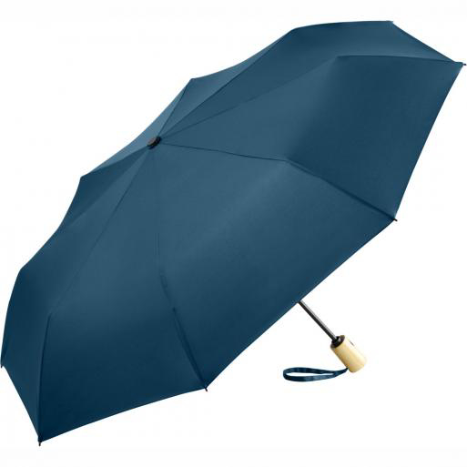 Fare Recycled PET Auto Mini Umbrella - Navy