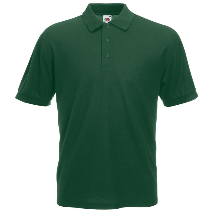 Fruit of the Loom Polo Shirt - Bottle Green