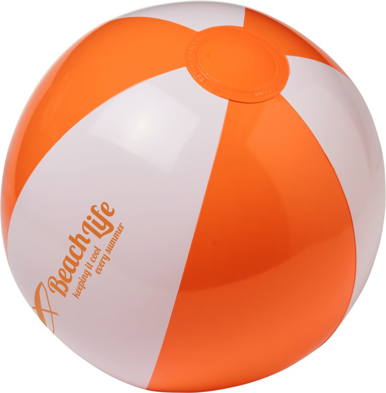 Palma Solid Beach Ball - Branded